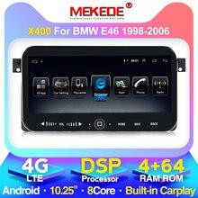MEKEDE Android car radio reproductor multimedia para BMW E46 / M3 / 318i / 320i / 325i/330/335/1998-2006 2DIN GPS de navegación
