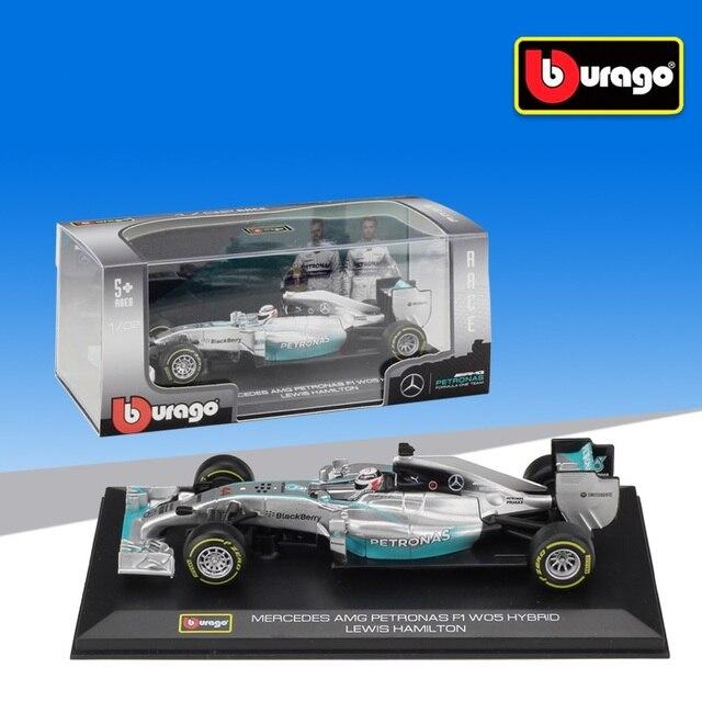 1:32 Bburago بنز F1 W05 الهجين No44 فيراري SF16 H ريدبول RB13 سباق يموت يلقي نموذج سيارة