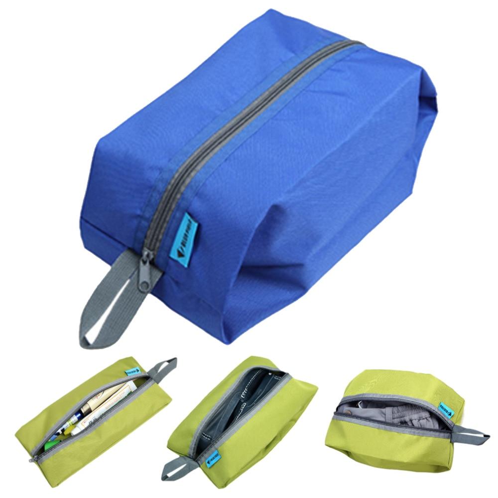 Portable Waterproof Travel Shoe Bag Nylon Foldable Pouch Beach Storage Bag Portable Bags Dustproof Shoes Organizer