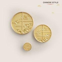 Chińskie style/solidna mosiężna szafka gałki i uchwyty szuflada meble szafka szafa złote uchwyty