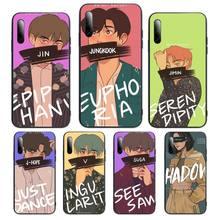 pepakomi Bts Perfect black Phone Case For Samsung S Note20 10 2020 S5 21 30 ultra plus A81 Cover Fundas Coque