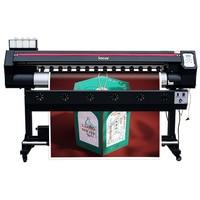 Large format art prints plotter 180cm single dx7 head eco solvent large format printing supplies banner printer