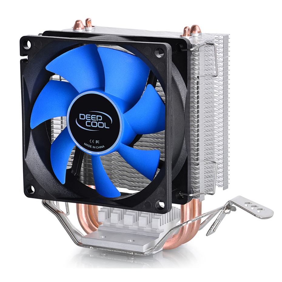 DEEPCOOL ICE EDGE MINI 2 Heatpipes CPU Cooler 80mm Quiet Fan For intel LGA 775 1155 1156 AMD AM4 AM3 AM2 For CPU Cooling|Fans & Cooling| - AliExpress