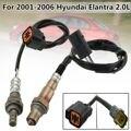 2Pcs Upstream und Downstream O2 Sauerstoff Sensor Für Hyundai Elantra 2.0L 2001 2006-in Exhaust Gas-Sauerstoff-Sensor aus Kraftfahrzeuge und Motorräder bei