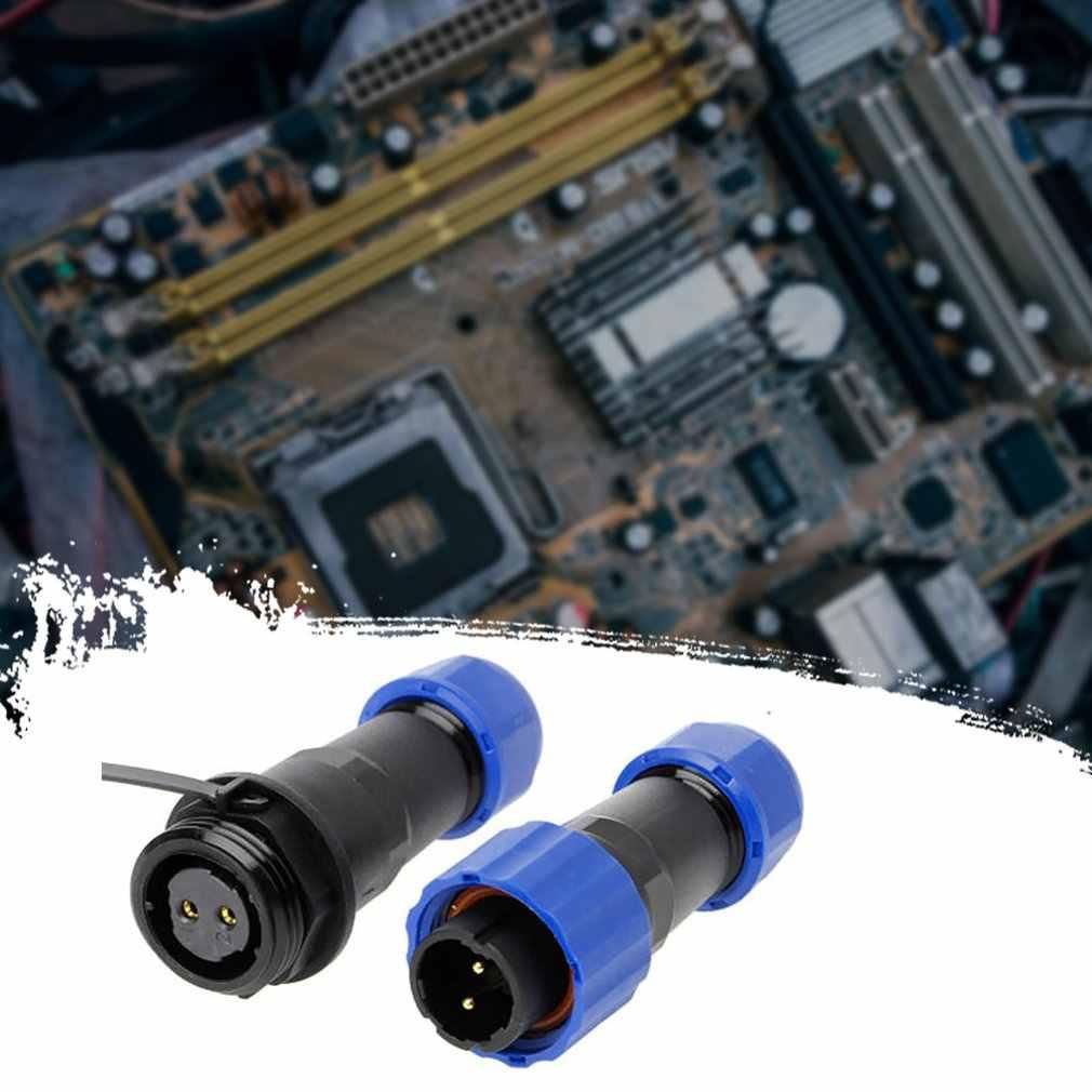 Ip68 sp16 série 2pin-9pin à prova dip68 água circular tomada conversor de tomada de ar à prova dwaterproof água led conector tomada