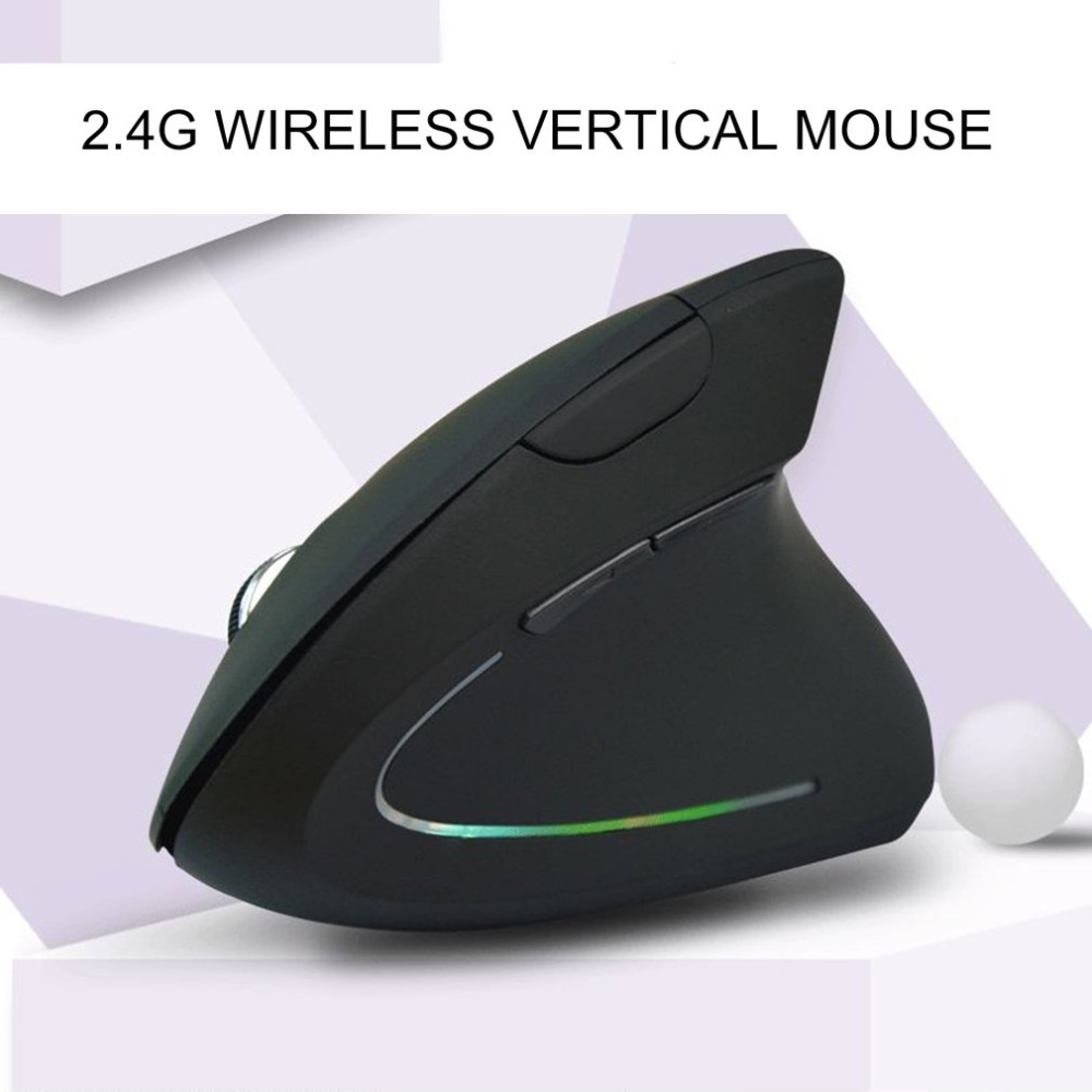 Gaming Mouse 6 Buttons For PC Laptop Optical Mouse 2.4GHZ LED Light Game Mouse USB Wireless Mice Gamer 1600DPI Optics Mice