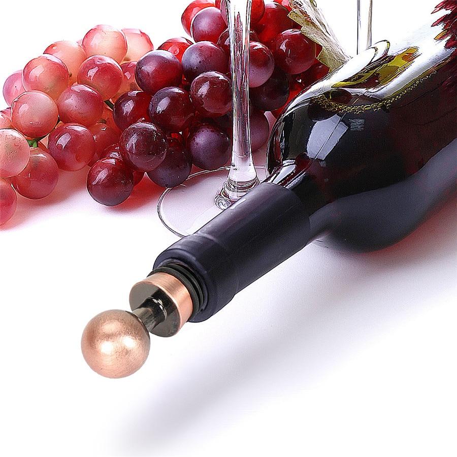 1 5pcs Bottle Round Red Wine Storage Bottle Stopper Twist Cap Plug Reusable Home Bottle Stoppers Corks Home Garden