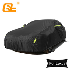 Universal Waterproof Full Car Covers Outdoor sun uv protection dust rain snow protective for lexus es ls ct200 gs rx300 gx is250