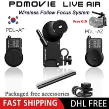 PDMOVIE LIVE AIR 2 Bluetooth bezprzewodowy System Follow Focus dla DJI ronin s zhiyun crane 2 MOZA aircross Gimbal lub obiektyw aparatu SLR