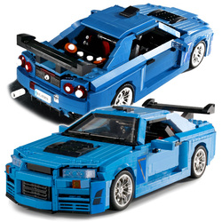 1286pcs Sport Car Building Blocks CreatorCity Super Car Expert Bricks Set Vehicle Model Children Kids Racing DIY Toy Gift