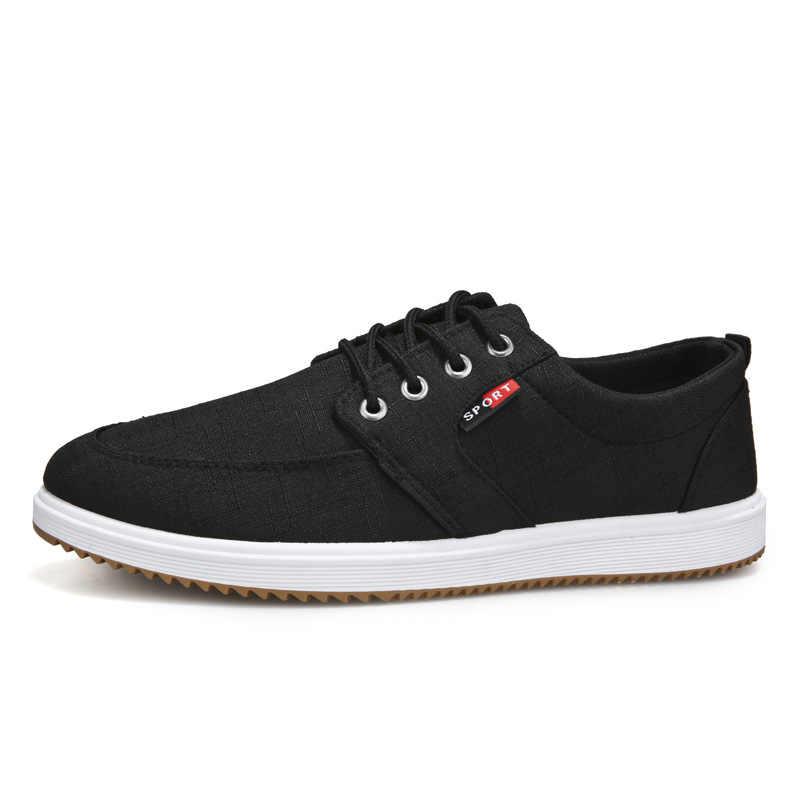 Männer Casual Schuhe Sommer Leinwand Schuhe Männer Atmungsaktiv Casual Leinwand Männer Schuhe Walking Männer Schuhe Chaussure Homme Fabrik verkäufe
