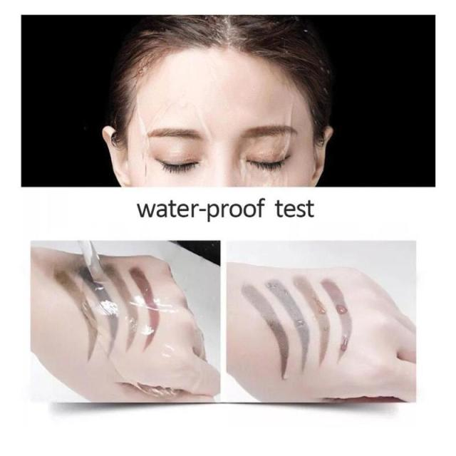 5 Colors 3D Magic Microblading Eyebrow Pencil Makeup Tool Tint 4 Tip Liquid Brow Tattoo Pen Waterproof Cosmetic Eye brow Liner 5