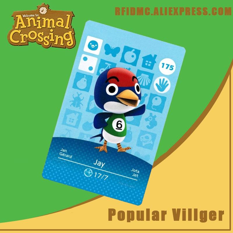 175 Jay Animal Crossing Card Amiibo For New Horizons
