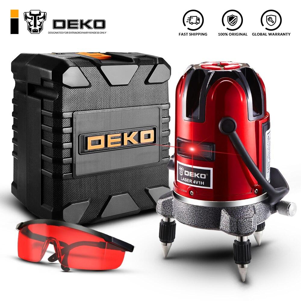 DEKO LL57/LL58 5 линий 360 градусов Красный лазерный уровень самонивелирующийся Горизонтальная и вертикальная регулировка более высокая видимость высокая точность|Лазерные уровни|   | АлиЭкспресс
