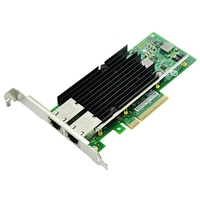 10Gb PCI-E NIC Network Card  for X540-T2 with Intel X540 Chip  Dual Copper RJ45 Port  PCI Express X8 with Dual RJ45 Port Server