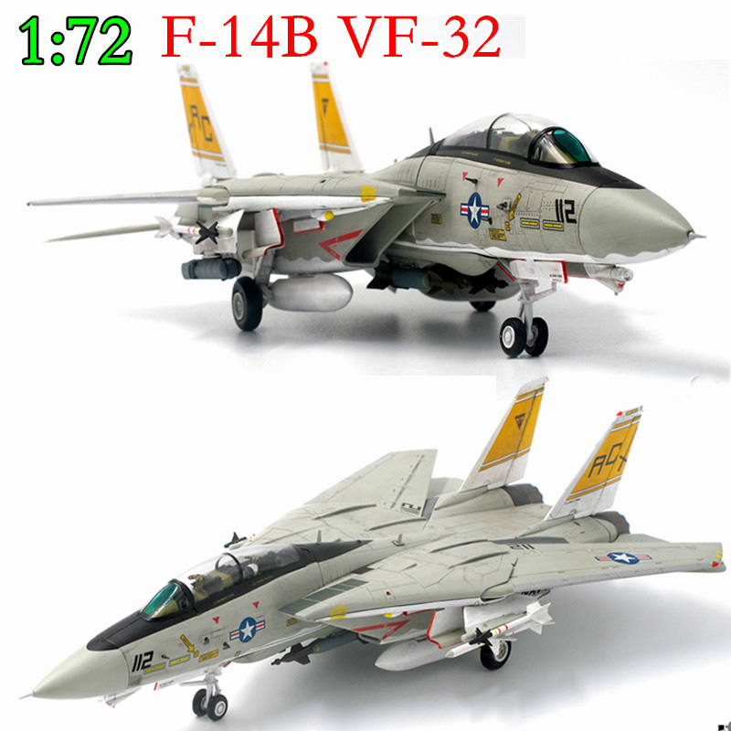 Fine 1:72 U.S. F-14B Carrier-based Fighter VF-32  Alloy Aircraft Model  Collection