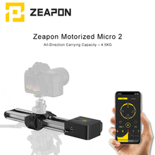 Zeapon Motorized Micro 2 Camera Rail Slider Aluminum Alloy Double Distance Track Slider for DSLR and Mirrorless Camera jeyang s460 doubling distance slider for camera