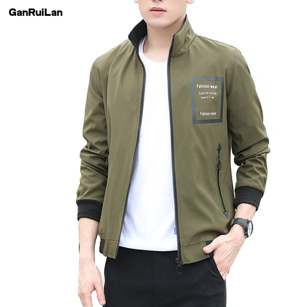 2020 New Jacket Men Fashion Casual Loose Mens Jacket Sportswear Bomber Jacket Mens Jackets Men And Coats Plus Size JK19089