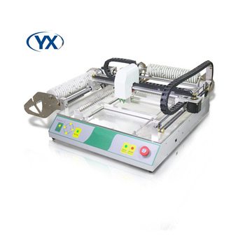 Pick and Place Machine TVM802B LED SMT Machines Surface Mount System With Smt Stick Feeder Supplier  Mounting