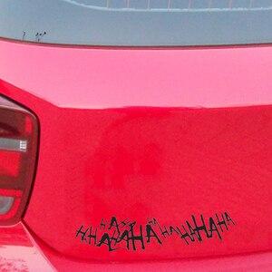 Image 3 - Für 1 stücke Joker Hahaha Ernsthafte Super Schlechte Bösen Seite Körper Batman Gotham Auto Aufkleber Aufkleber