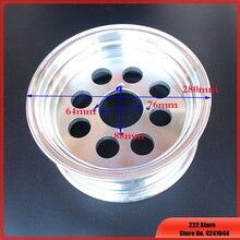 Für Affe Fahrrad Kleine Affe Motorrad Aluminium Rad hub 2,5/2,75/3,0/3,5/4,0 10 zoll 8 Loch Vakuum Aluminium Felgen