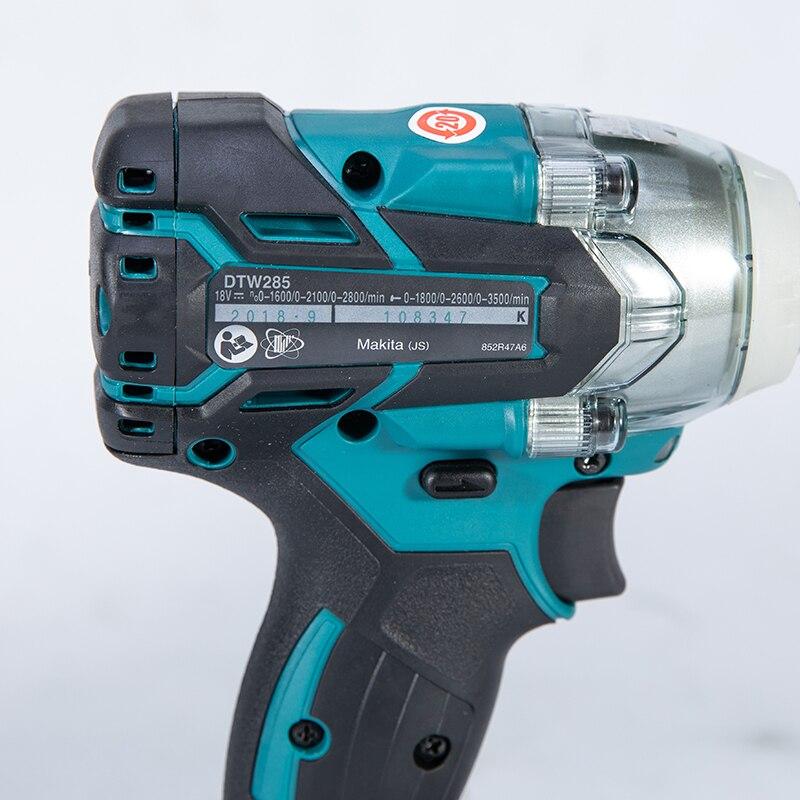 Makita 18 V Impact Gun 1//2 DTW285Z Sans Fil Clé à chocs Corps Seulement
