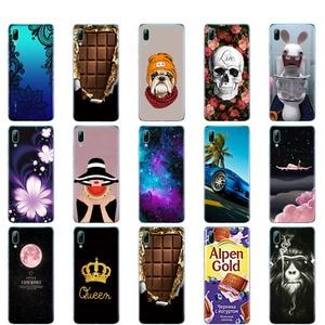 Image 2 - Für Huawei Y7 2019 Fall für Huawei y7 Prime 2019 Silicon TPU Abdeckung Weiche Telefon Fall Für Huawei Y7 2019 Y 7 Y7Prime Y7 Prime 2019