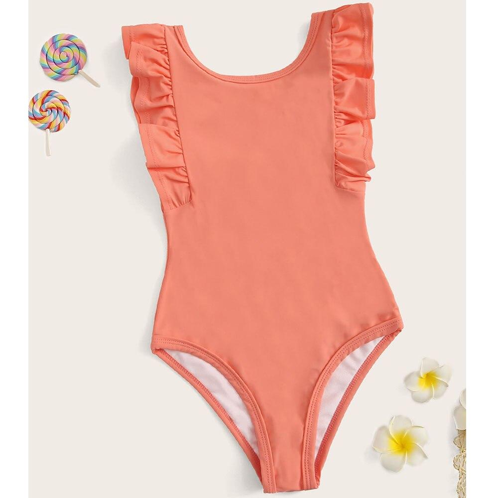 Hot Selling 2018 Europe And America Bikini Bathing Suit Bikini Children Swimwear