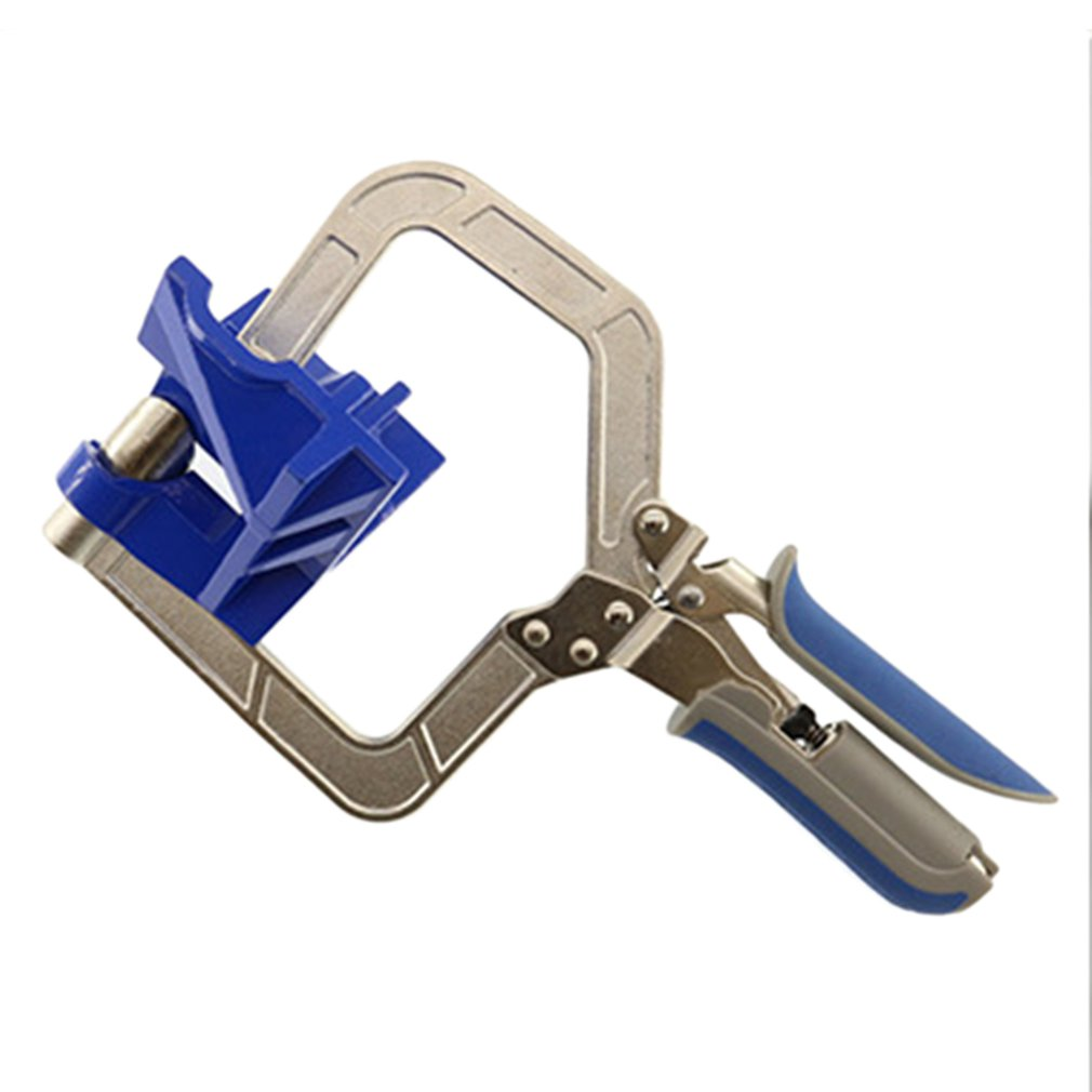 For <font><b>Khccc</b></font> Right Angle Clamp Multifunction Angle Fixed Puncher Right Angle Fixing Tool Woodworking Tool Clamp image