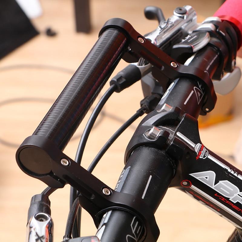 "7.9/""Cycling Bike Bicycle Handle Bar Lamp Bracket Extender Mount Extension Holder"