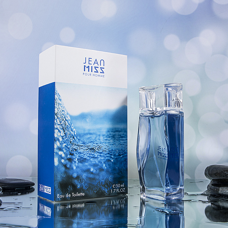 JEAN MISS Brand Original 50ml Perfume For Men Spray Glass Bottle Long Lasting Male Parfum Eau De Liquid Pure Women Perfume