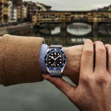 Luxury Hot CORGEUT Brand Automatic Men Watch Fashional Sapph