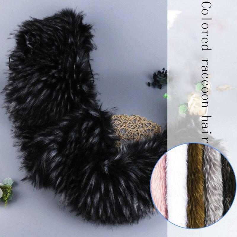 Tissu artificiel en fausse fourrure pour vêtement en gros