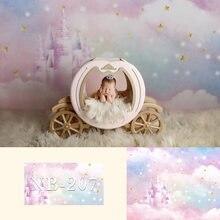 Ooozkken 8X12ft Dream Background Bright Theme Newborn Photography Studio Photography Wedding Background