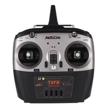 Radiolink T8FB 8CH Transmitter Radio Remote Control with R8EF Receiver for for RC Airplane Helicopter Drone Left Hand Accessory mc6 2 4ghz 6 ch radio control for drone glider fixed wing helicopter rc ship transmitter and receiver inside antenna