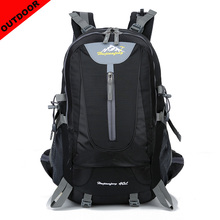 New 2019 Men Outdoor Sport Backpack 40L Large Capacity Travel Women Casual Hiking Unisex Camping Bag