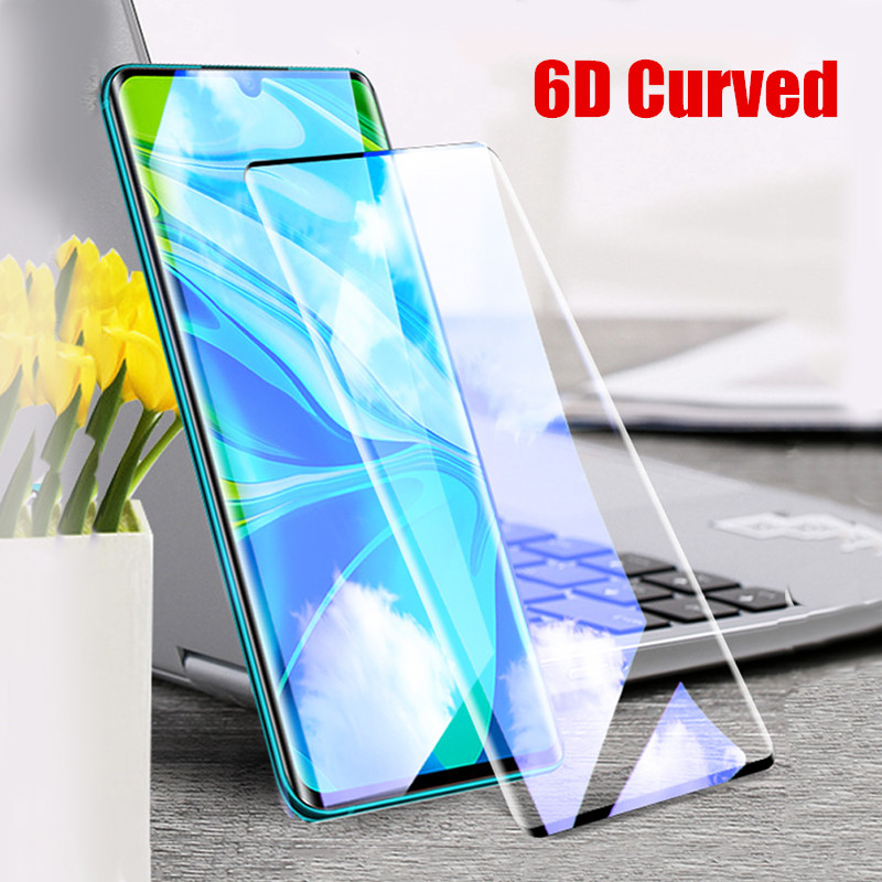 Glass For Xiaomi Mi Note 10 Tempered Glass 6D Curved Full Coverage Screen Protector Film For Xiaomi Mi CC9 Pro Note 10 Pro Glass