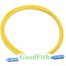 Fiber Patch Cord Patchcord SC-SC UPC SM G657b3 Simplex GoodFtth 1-15m 10pcs/lot