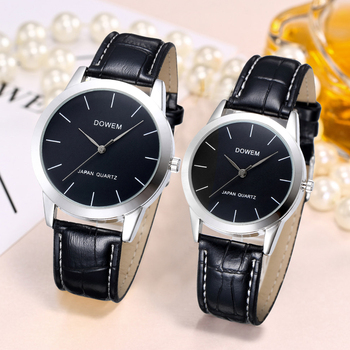 Shifenmei Lover's Watch Mens Watch Simple Luxury Quartz Wristwatch Women Clock for Male Female Waterproof Couple Watches Gifts eutour magnetic ball show watch men canvas leather strap mens wristwatch fashion bracelet waterproof quartz watch male clock