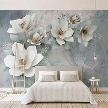 Фотообои 3d модные цветы настенная живопись в европейском стиле