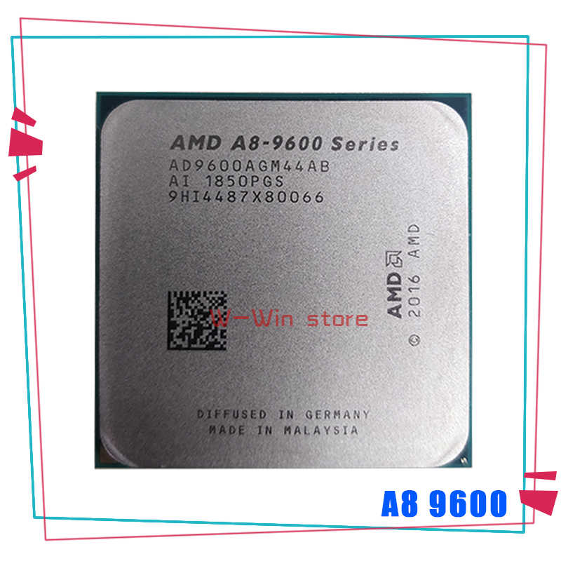 AMD A8-Series A8-9600 A8 9600 3.1 GHz 65W Quad-Core procesor CPU AD9600AGM44AB AD960BAGM44AB gniazdo AM4