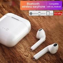 I9s tws fones de ouvido sem fio bluetooth 5.0 fone ar esporte handsfree com caixa carregamento para iphone ios android