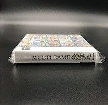 5 pz/lotto 208 in 1/482 IN 1 Accessori del Video Gioco Parti di Compilazione di Carta Cartuccia per DS/3DS/2DS super Combo Multi Carrello