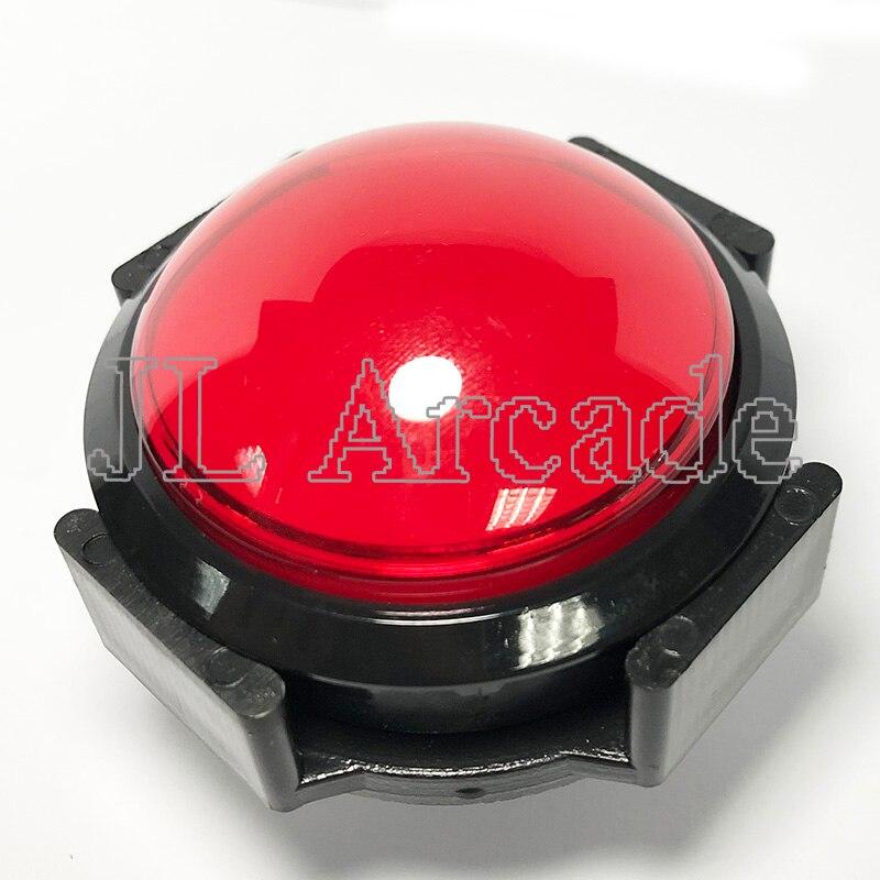 5 Pcs 60mm Bolle Schakelaar Drukknop Met 12 V LED Licht Micro Schakelaar Voor Slot Machine/ Jamma Arcade Kast Accessoires