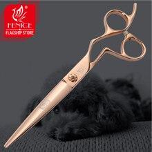 Fenice Professional Gold Pet Grooming Scissors 7.0/7.5inch Dog Hair Cutting Shears tijeras tesoura
