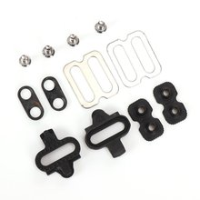 Bicycle Accessories Bike Cleats Set For Shimano MTB SPD Pedals PD-M520 M540 M324 M545 M424 M647 M959 Bicycle Replacement sm pd22 spd fedals for shimano pedals cleat flat pedals for m520 m540 m780 m980