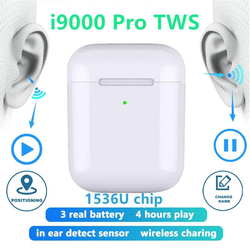 Original I9000 Pro TWS Aire 2 Replica 1:1 Bluetooth Earphone Wireless Headphones Rename Positioning Earbuds PK I10 I200 I500 TWS