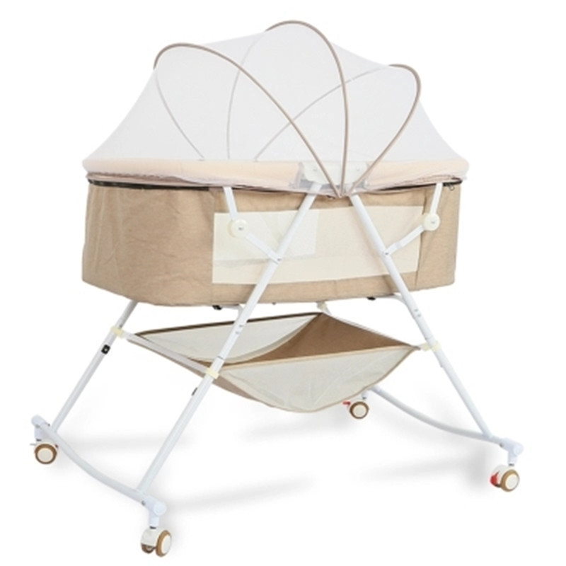 Travel Bed Easy Fold Sleeping Next Baby Nest  Crib Portable Removable Rocking Chair  Travel Bed For Children Infant Kids Basket