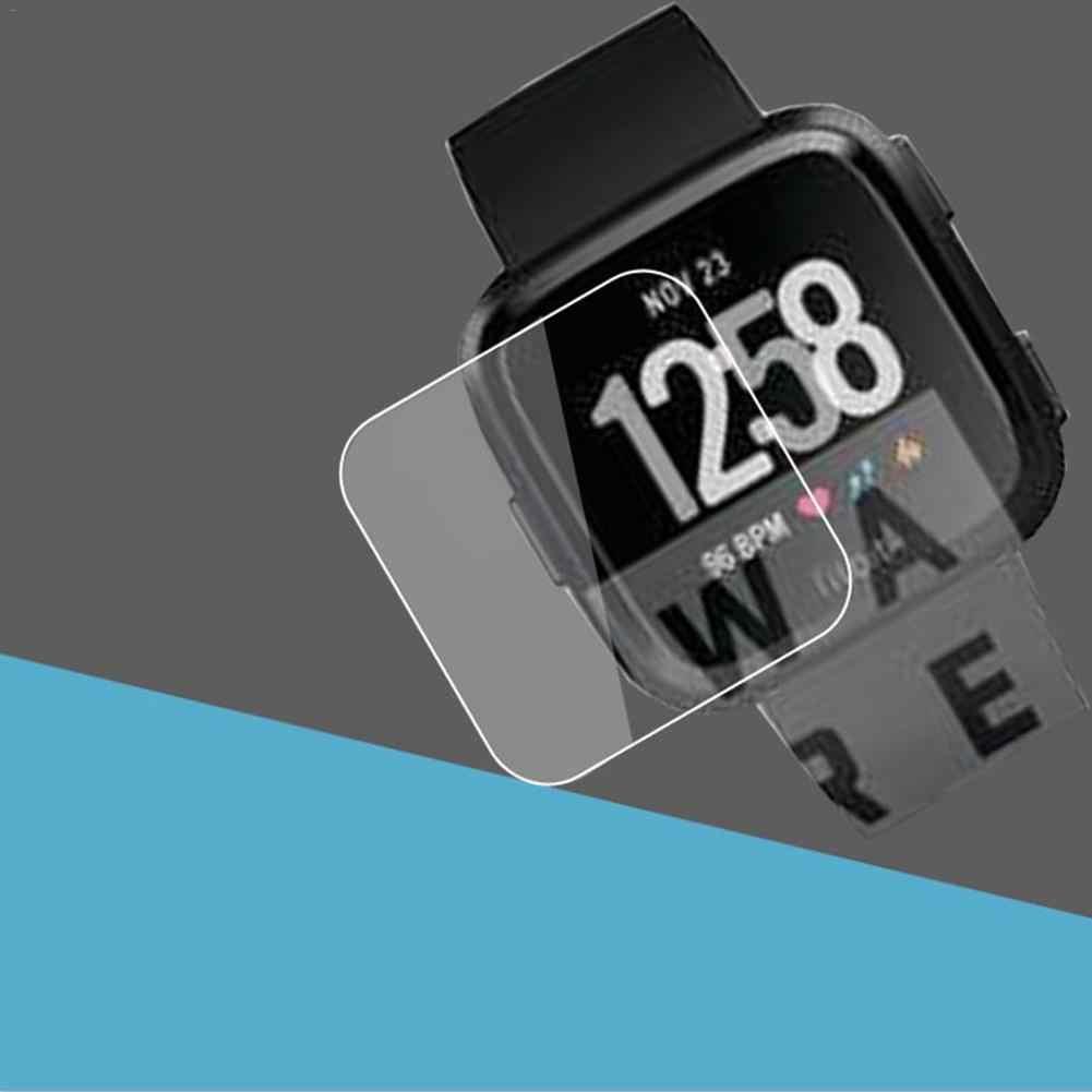 Smart Armband Accessoires explosieveilige TPU HD Full Cover Screen Protector Film voor Fitbit Versa Smart Horloge