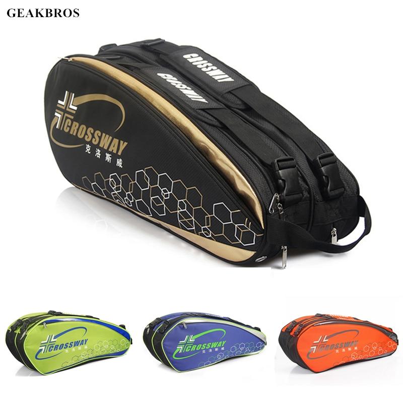 6-12 Pcs Racket Tennis Bag Badminton Bag Backpack Sack Tennis Raqueta Bag Professional Sport Tennis Racket Cover Shoes Storage